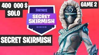 Fortnite Secret Skirmish SOLO Game 2 Highlights [Day 2] Fortnite Tournament 2019