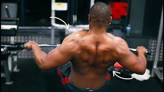How I Split My Back Workouts | Rap Freestyle  #VeganBodybuilder