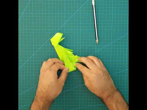 Origami T-Rex Tutorial - Part 6