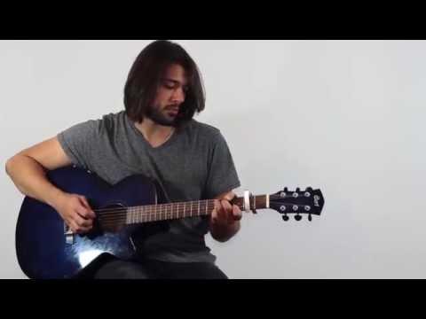 Cours de guitare -  Zaz - Éblouie par la nuit (débutant)
