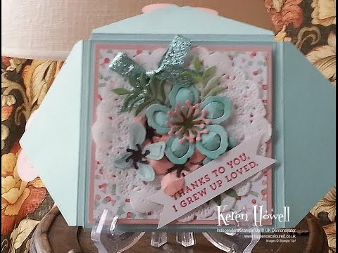 Stampin' Up! Mother's Day Boxvelope  Card