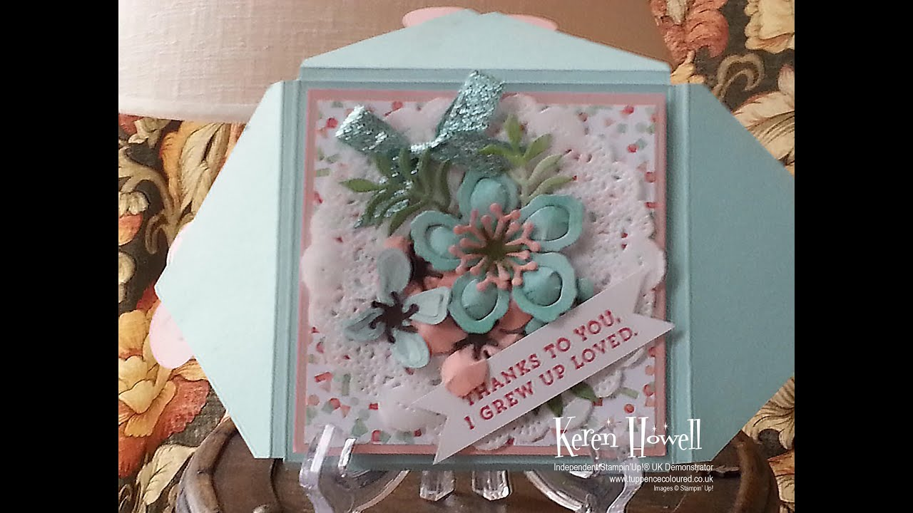 Stampin' Up! Mother's Day Boxvelope Card - YouTube