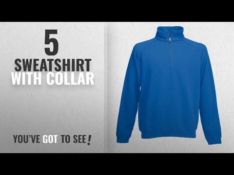 Top 10 Sweatshirt With Collar [2018]: Fruit Of The Loom Men's Premium Sweater