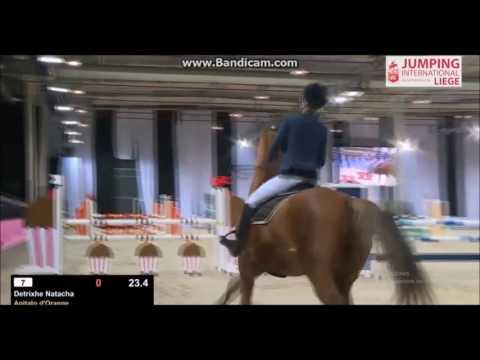 Nat & Agitato D'Orange 110cm 7ème  Jumping International De Liège 2016 2016