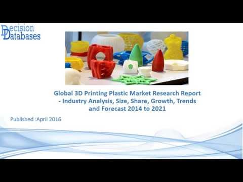 Global 3D Printing Plastic Market Research Report 2014 to 2021