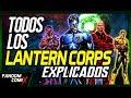 Todos los Cuerpos de Linternas de DC - Explicación a detalle