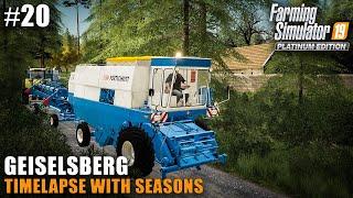 geiselsberg-timelapse-harvesting-canola-barley-rye-farming-simulator-19-seasons