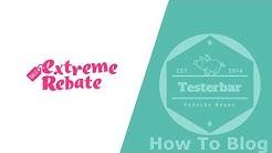 ExtremeRebate   Extrem viele Produkte gratis testen