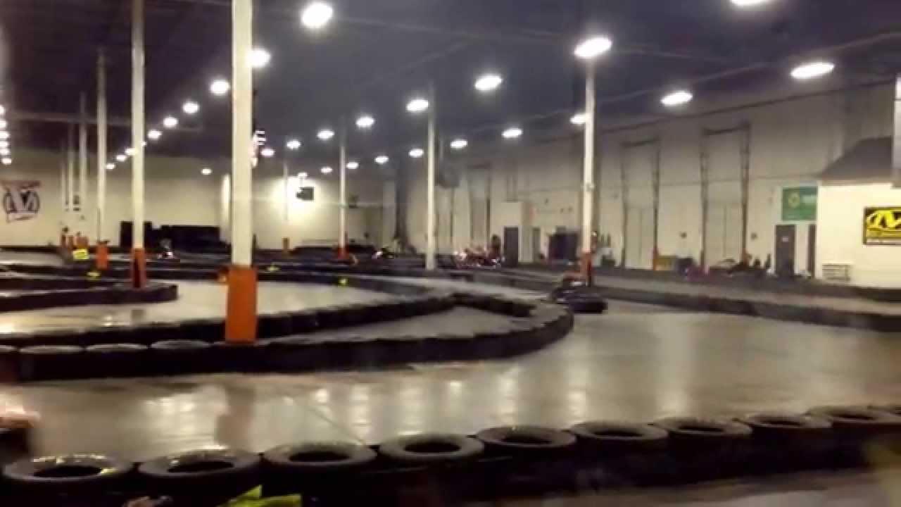 Me racing go karts @victory lane karting - YouTube