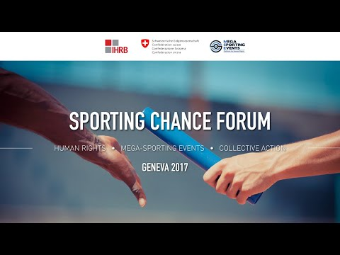 Heads of OHCHR, ILO, and IOC open the Sporting Chance Forum