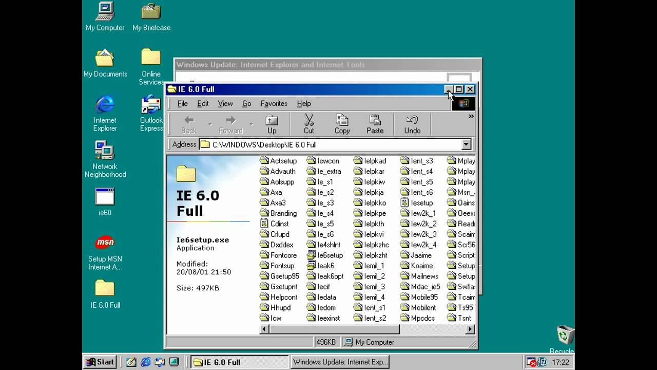 microsoft internet explorer 6.0 sp1 free download