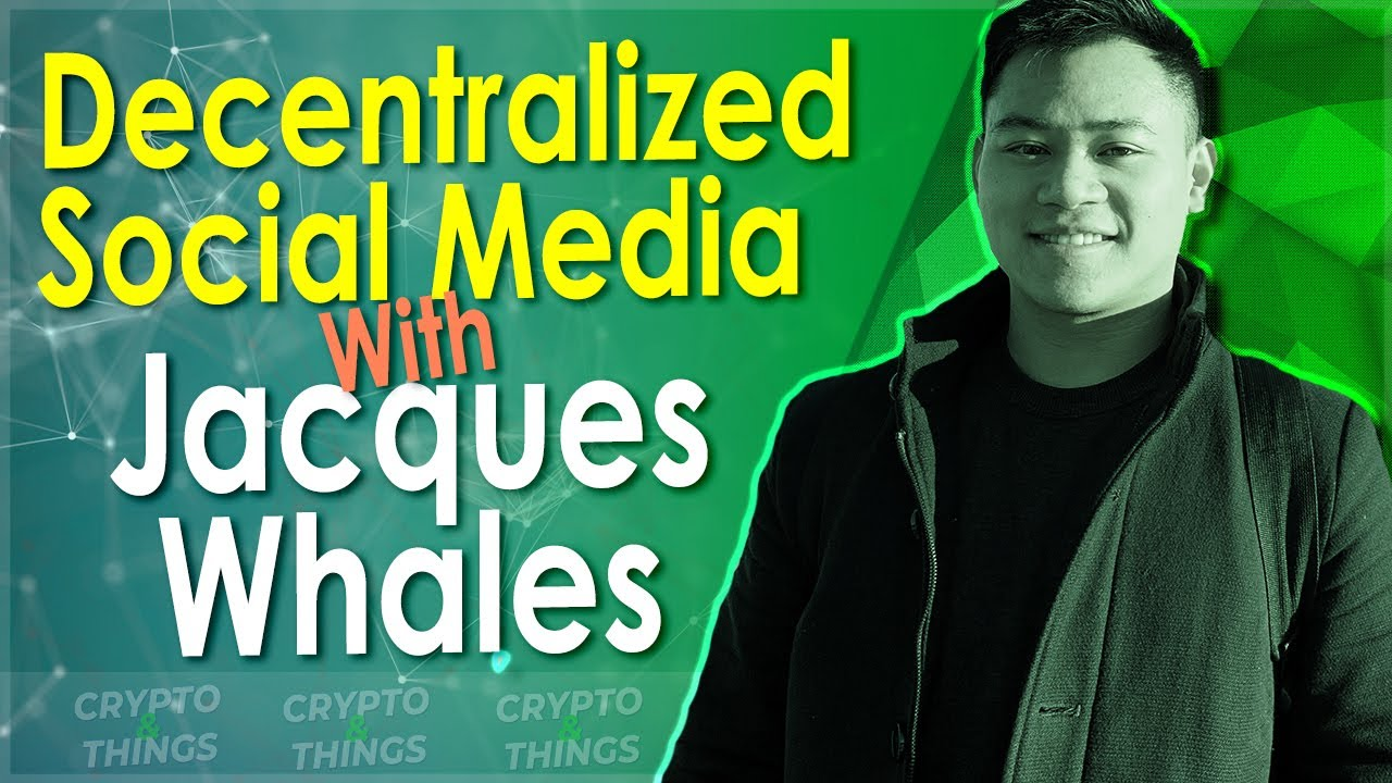 ▶️ Discussing Decentralized Social Media With Jacques Whales | EP#367