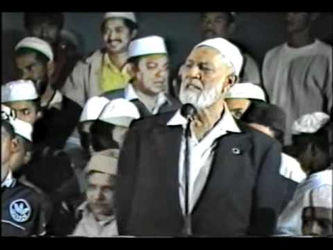 Qur'an or the Bible - Preview of U.K. Debate in South Africa - Sheikh Ahmed Deedat