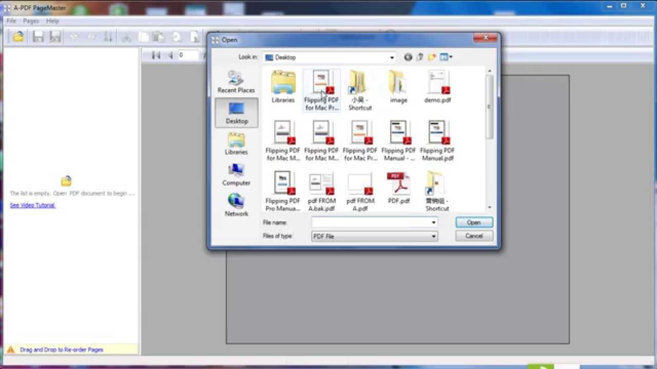 Pagemanager Pdf Printer