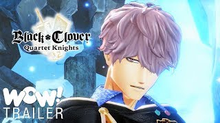 Black Clover Quartet Knights - Gauche Character introduction Trailer