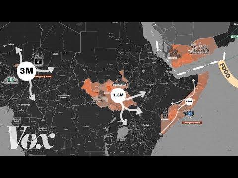 The 4 man-made famines threatening 20 million people