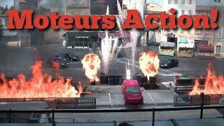 Moteurs 🎬Action🎥 stunt show spectacular | Walt Disney Studios 2017