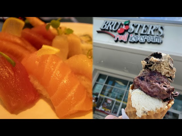 HUNTING for the BEST Sushi & Ice Cream near Disney