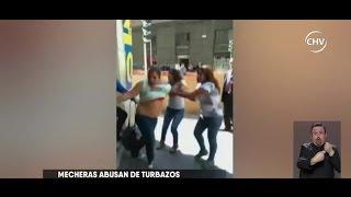 Mecheras roban supermercado acompañadas de niños - CHV NOTICIAS