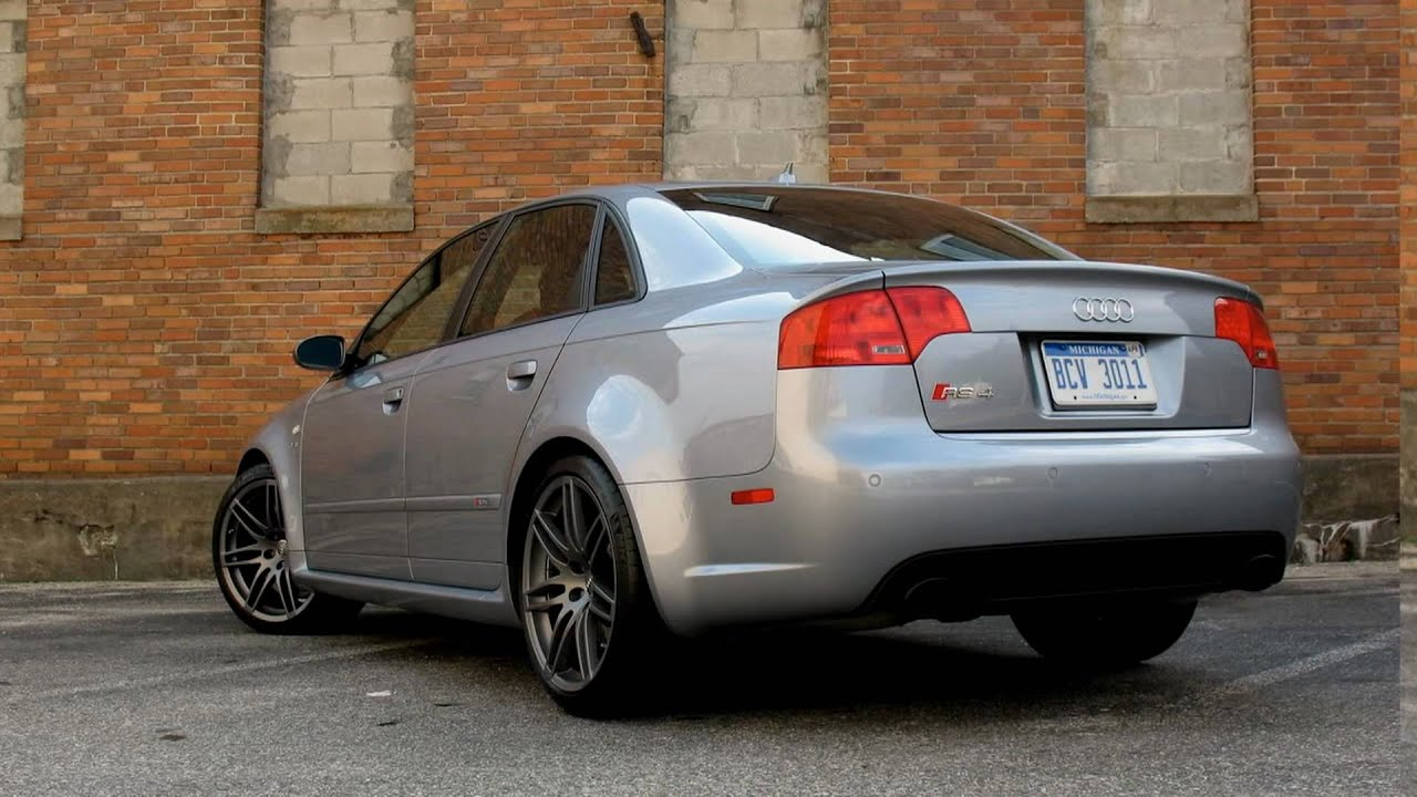 2008 Audi Rs4 Youtube