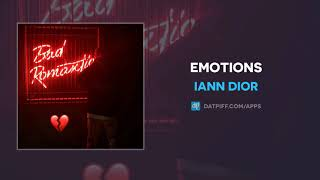 "Iann Dior ""Emotions"" (AUDIO)"