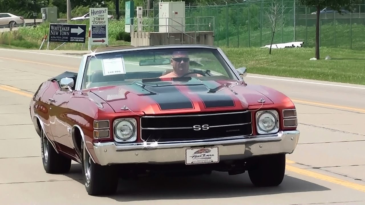 test driving 1971 chevrolet chevelle ss 454 big block. Black Bedroom Furniture Sets. Home Design Ideas