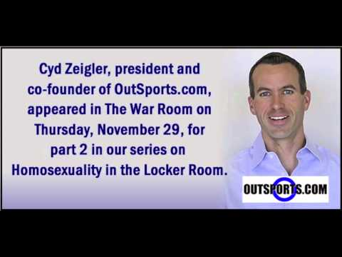 Cyd Zeigler of OutSports.com appeared in The War Room
