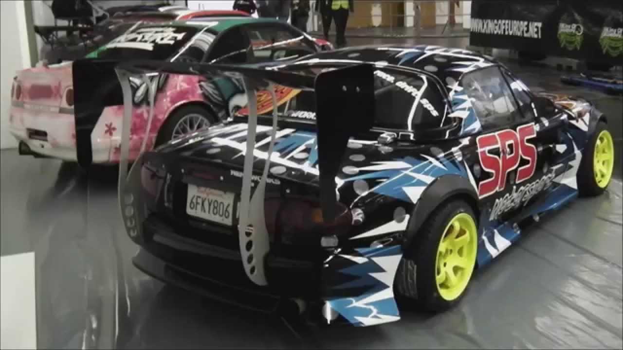 Mazda Mx5 Drift Car Essen Motor Show 2014 Youtube
