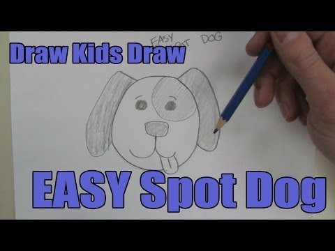 How To Draw: EASY Spot Dog