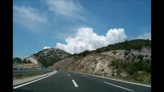 Chorwacja Autostrady 2014 - urywki z różnych odcinków autostrady, warto zobaczyć przed wyjazdem