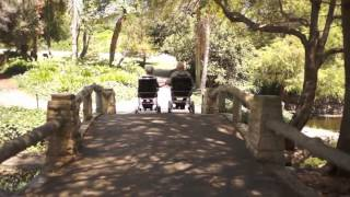 e-Throne lightweight/folding power wheelchair with LiFePO4 Battery from Golden Motor