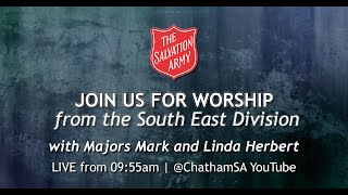 Sunday 18th April 2021 - The South East Division of the Salvation Army