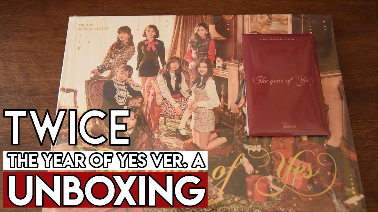 TWICE (트와이스) The Year of Yes Album Unboxing