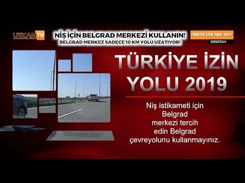 8.Bölüm Sırbistan Yol Ayrımı Belgrad Merkez Yolu Kullanın Türkiye İzin Yolu 2019