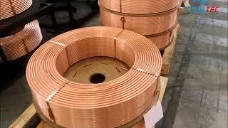 Veja como é feito o tubo de cobre - Nós da REFRIPLAY em visita inédita à ELUMA  em SP e na Bahia !
