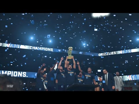 NBA 2K18 - Memphis Grizzlies Championship Celebration