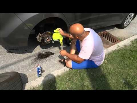 How To Clean The Brakes On A Car-Degreasing Rotors, Calipers, And Pads