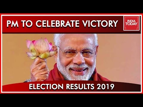 PM Modi To Head To BJP Headquarters To Celebrate Resounding Victory | Results 2019