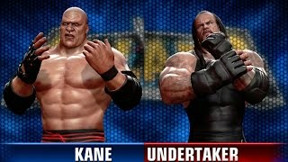 XBox 360 ¦ WWE ALL STARS ¦ Kane VS The Undertaker