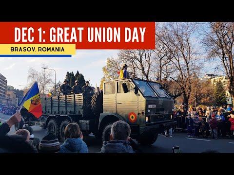 BRASOV (Romania): Episode 1 - GREAT UNION DAY Celebration