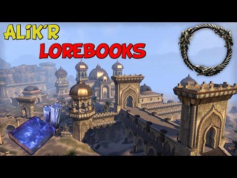 ESO | Alik'r Lorebooks |