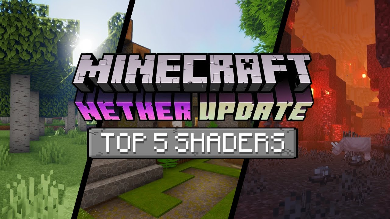 TOP 100 SHADERS FOR MINECRAFT 10.106.10 - BEST SHADERS OF 100