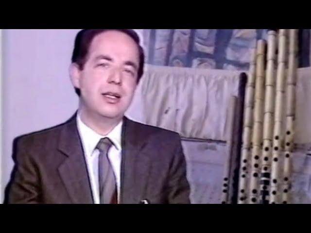 سعد الله آغا القلعة في حلقة من برنامج العرب والموسيقى : الآلة الموسيقية الأقدم في التاريخ : الناي!