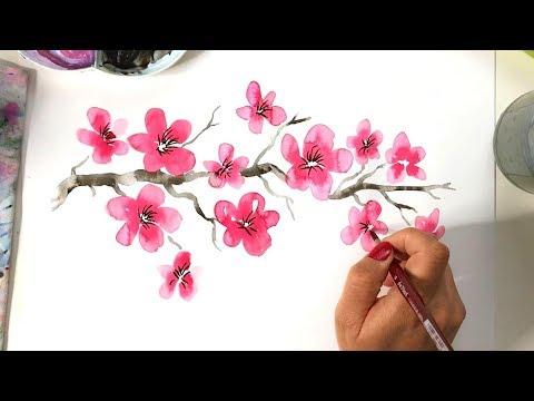 Kirschblüten Turtorial  