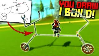 I Brought Terrible Drawings to Life in This Game! [YDIB 3] - Scrap Mechanic Gameplay