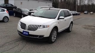 2014 Lincoln MKX AWD Start Up, Engine, Test Drive, and in Depth Tour