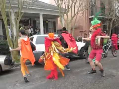 New Orleans Mardi Gras 2011