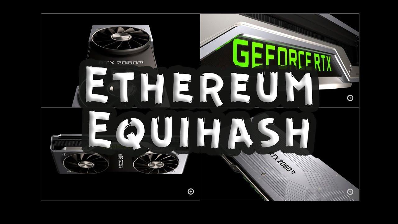 RTX 2080ti Founders Edition хэшрейт и энергопотребление ethereum, equihash, x16r, Phi2