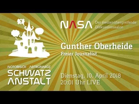 NASA #23  heute mit den freien Journalisten Gunther Oberheide (neu im Team -Mary- vom Team WhoKnows)