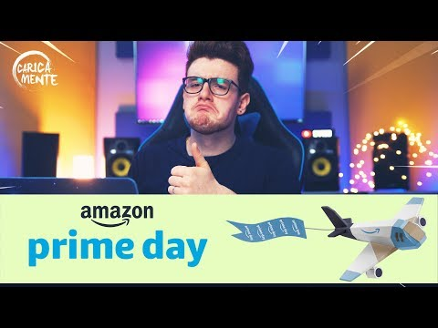 AMAZON PRIME DAY - SHOPPO 250€ AL PRIME DAY? - CARICAMENTE ITA 4K